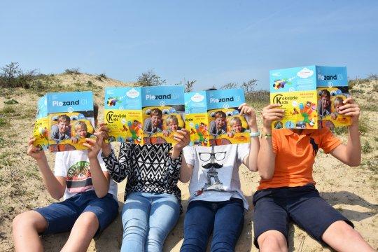 Onze kinderkrant Plezand wordt graag gelezen door de kinderen uit Koksijde!