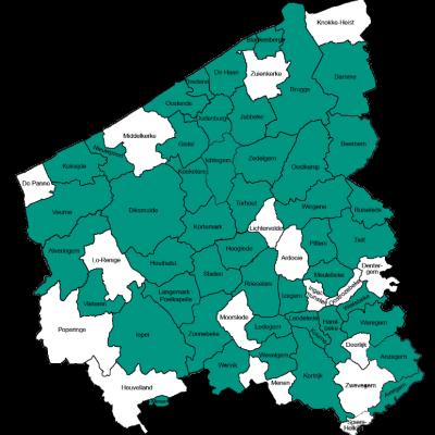 In West-Vlaanderen zijn een vijftigtal steden en gemeenten geëngageerd om pleegzorg en hun pleeggezinnen een extra duwtje in de rug te geven.