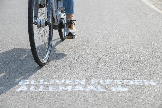 Blijven fietsen