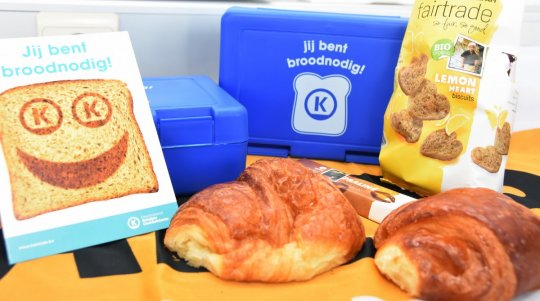 gevulde FairTrade brooddoos