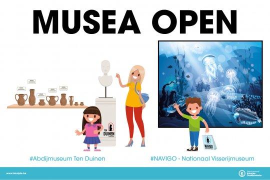 musea openen