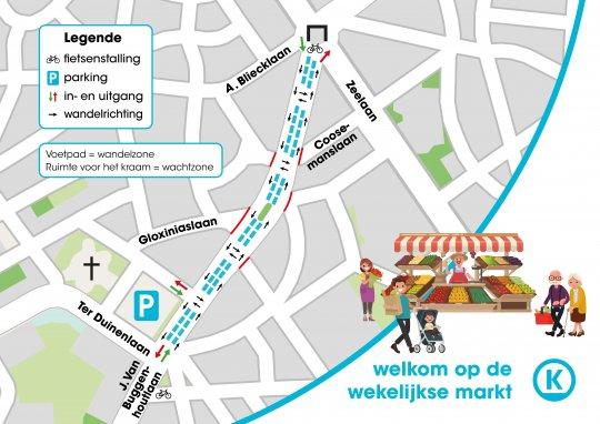 openbare vrijdagsmarkt