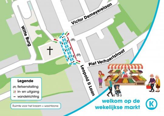 Markt Oostduinkerke-Dorp