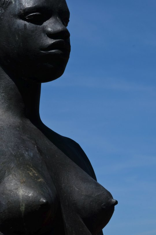 De Afrikaanse (detail), George Grard