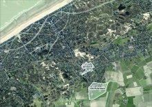 luchtfoto masterplan Koksijde-Dorp