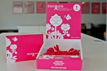 Think Pink - lintjesbox