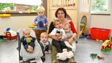 Kinderbegeleider groepsopvang (onthaalouder)