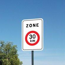 Verkeersbord zone 30