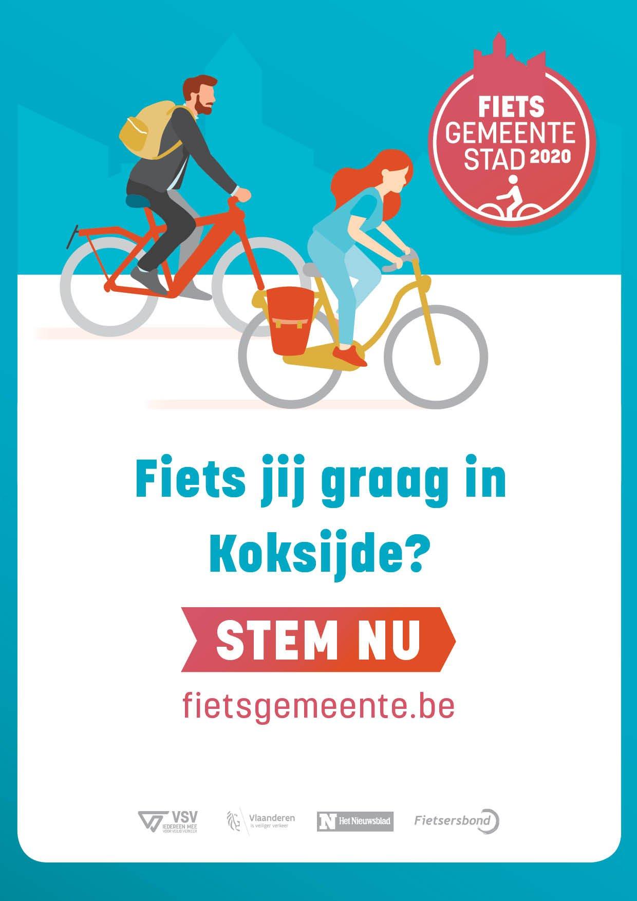 affiche fietsgemeente 2020