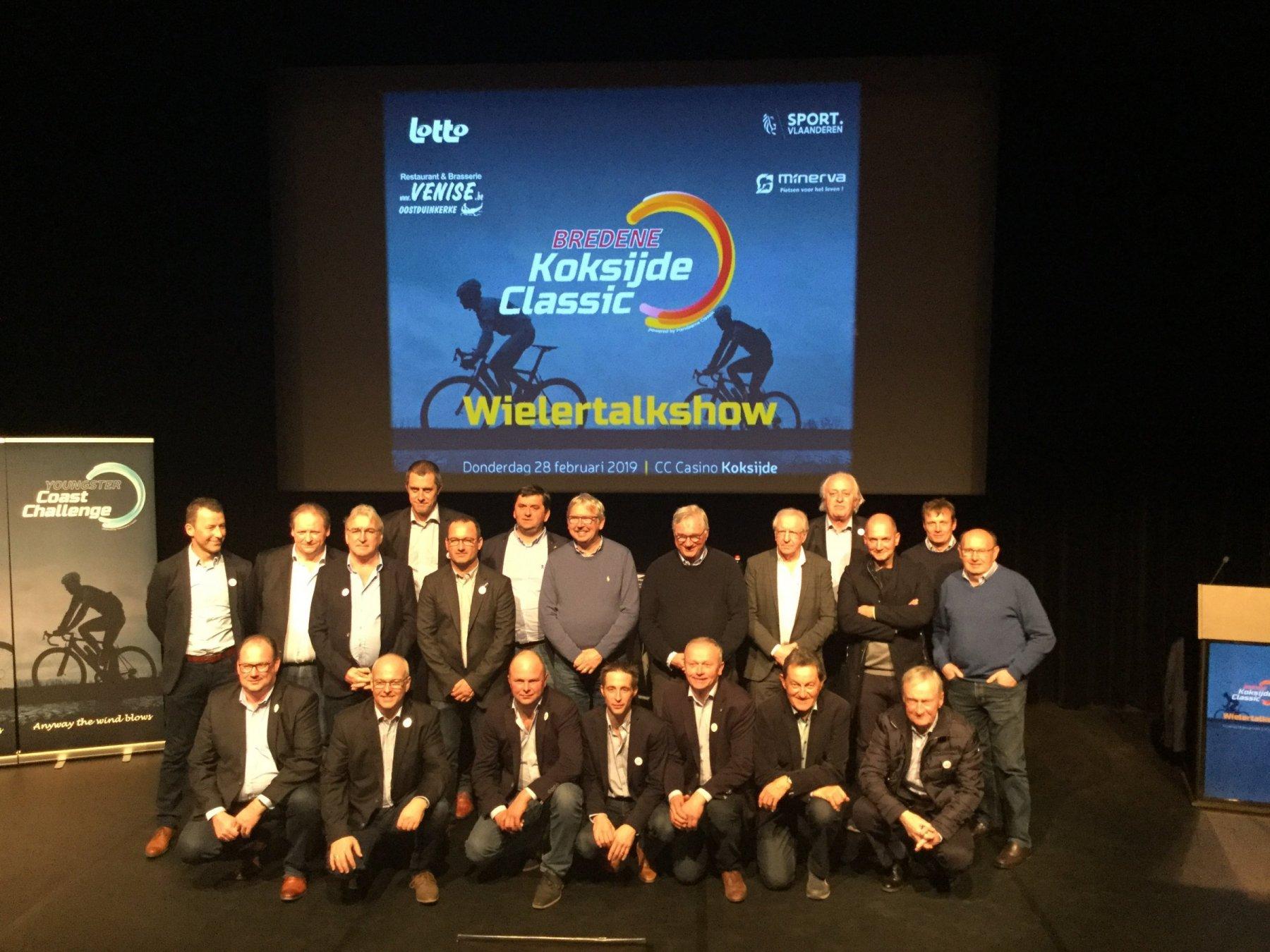 Bredene Koksijde Classic wielertalkshow 28-02-2019