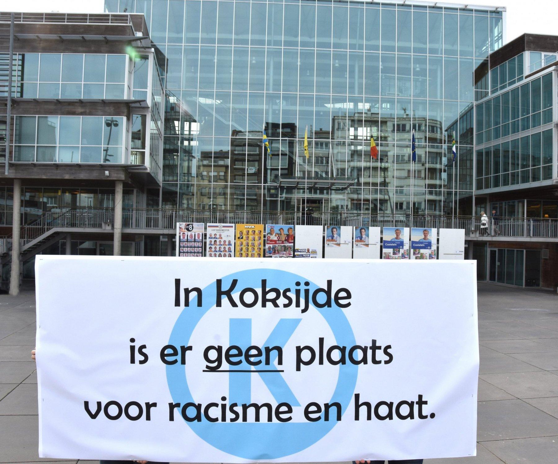 Nee tegen racisme en haat