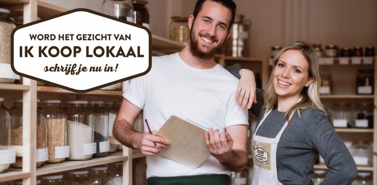"""Word het gezicht van de """"Ik koop lokaal""""-campagne!"""