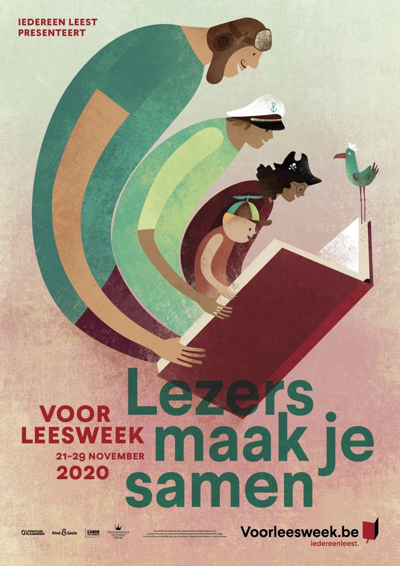 Voorleesweek affiche