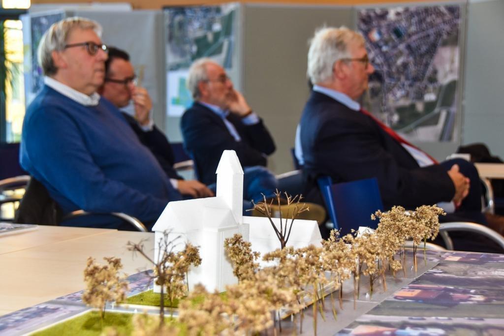 tweede ontwerpweek van het masterplan in Koksijde-dorp