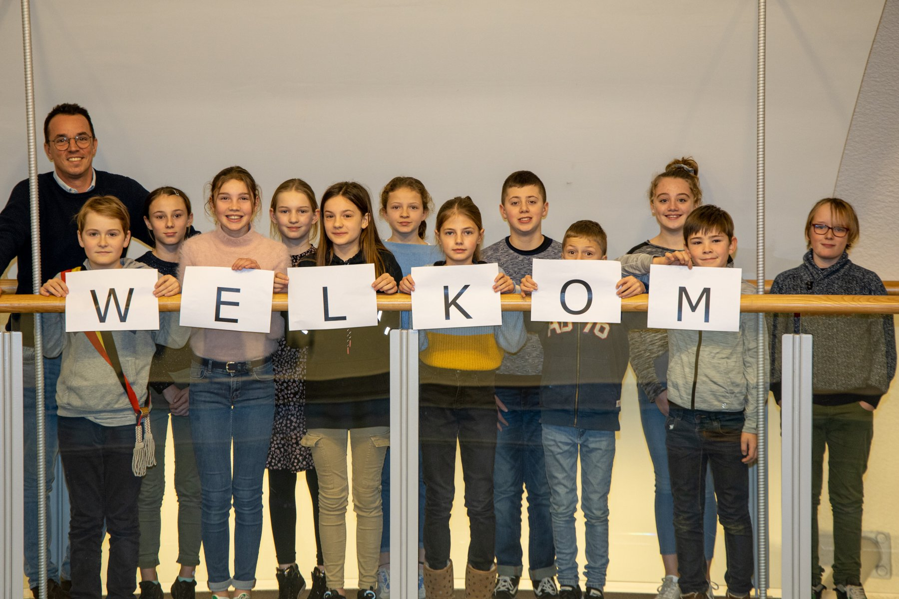 Alle kinderen van het asielcentrum welkom