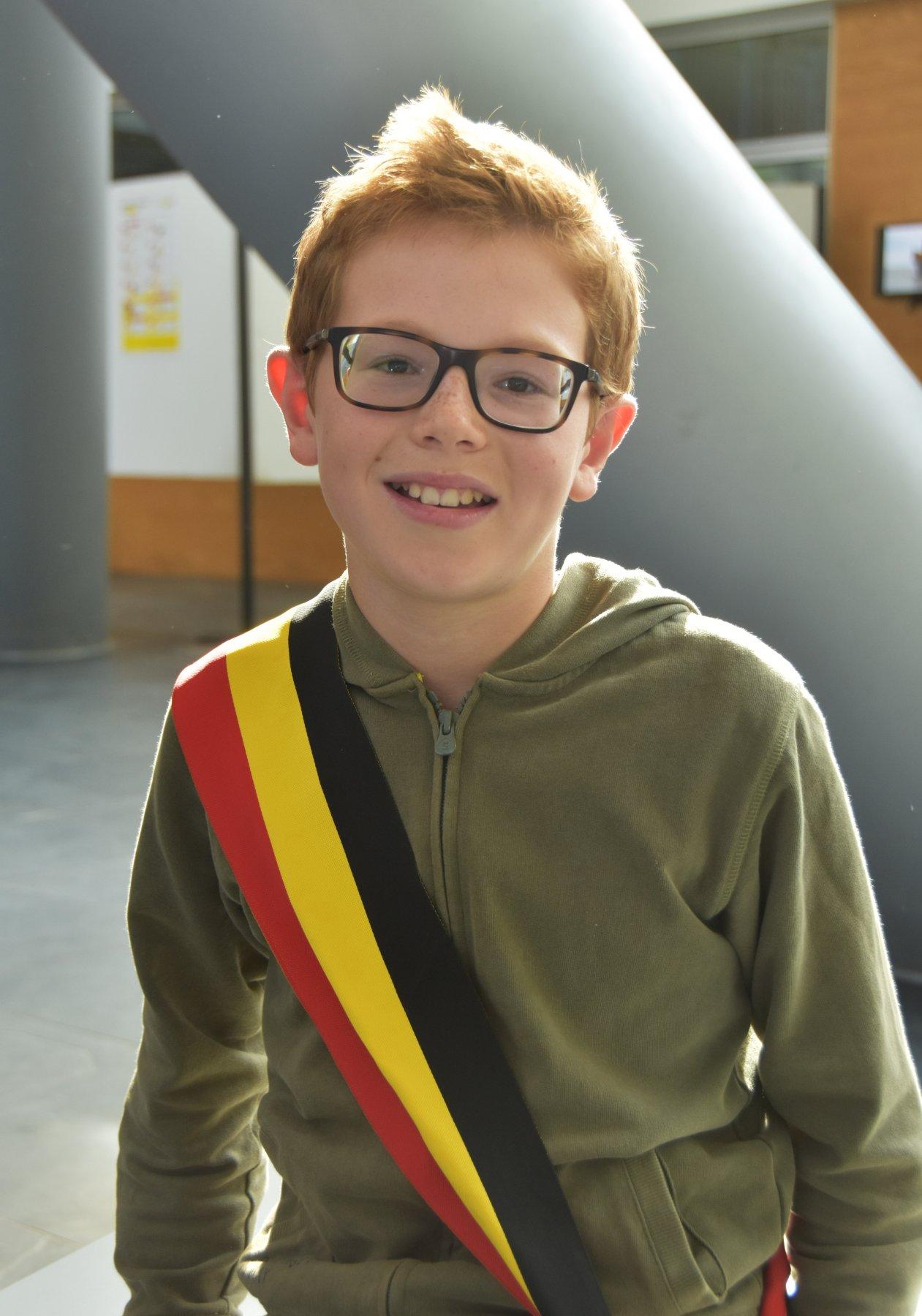 Kinderburgemeester Remi Pieters