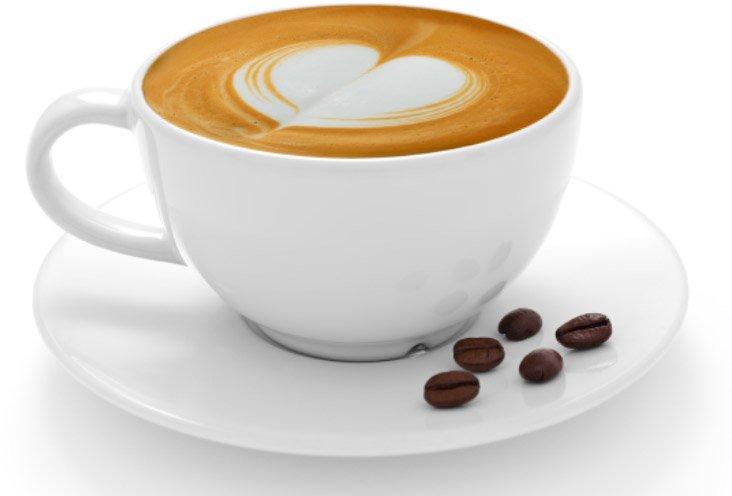 een tas koffie