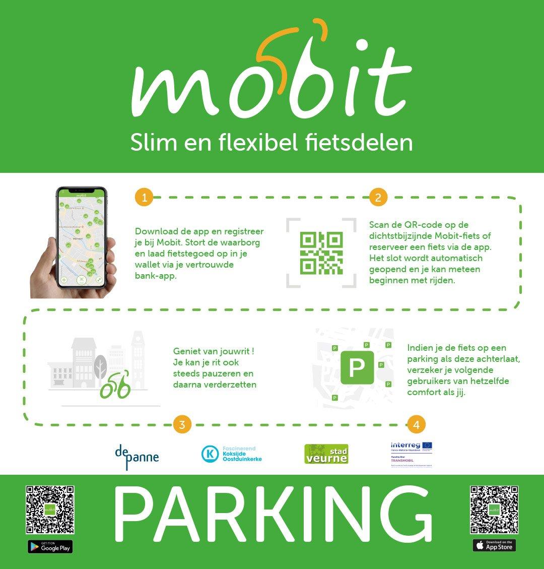 Mobit fietsdelen