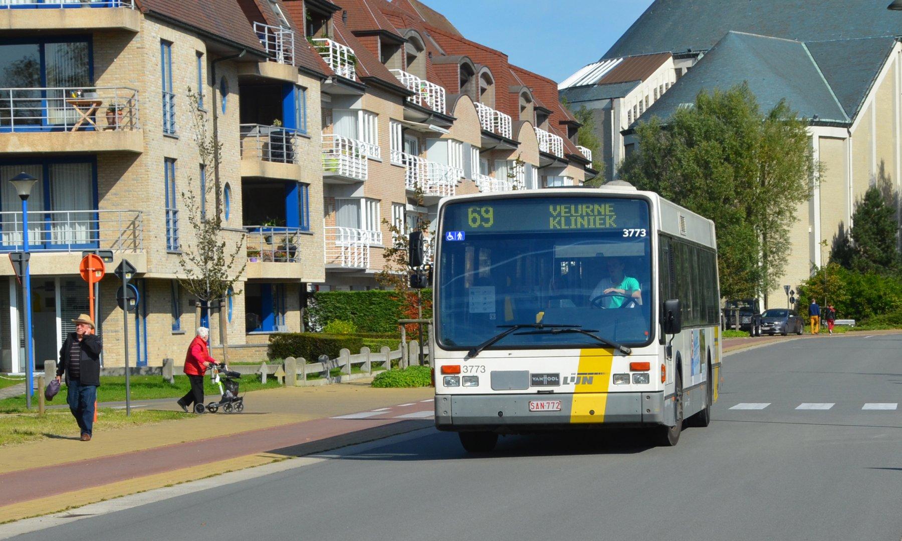 Openbaar vervoer Koksijde
