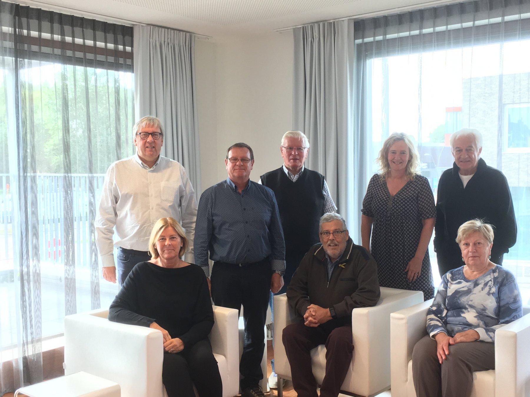 De werkgroep 'vereenzaming opsporen' Seniorenadviesraad Koksijde