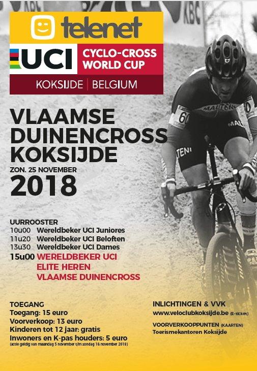 Affiche Vlaamse Duinencross